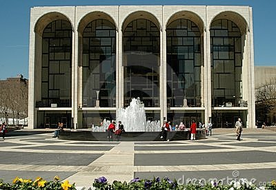 NYC: Metropolitan Opera House Editorial Stock Image