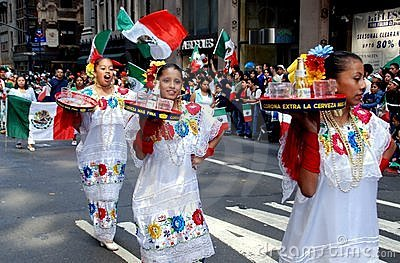 NYC: Mexican Independence Day Parade Editorial Image