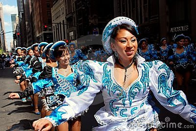 NYC: Mexican Independence Day Parade Editorial Stock Image