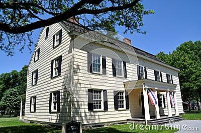 NYC: Museo 1750 de la casa del rey señorío de Rufus