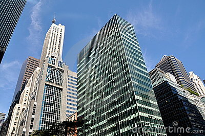 NYC: Park Avenue Corporate Towers Editorial Photo