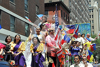 NYC: Philippines Independence Day Parade Editorial Photography