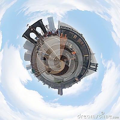 Free NYC Planet Panorama Stock Photos - 15105033