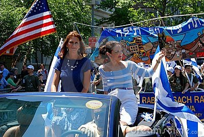 NYC: Salute to Israel Parade Editorial Photography
