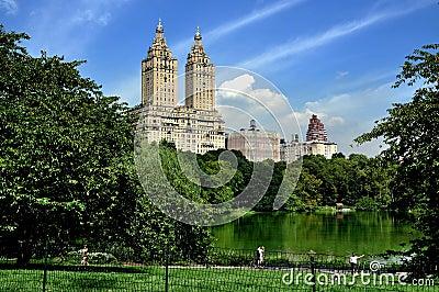 NYC: San Remo Luxury Apartments Editorial Stock Photo