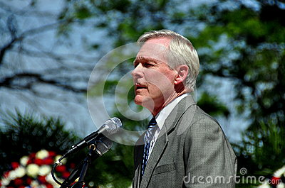 NYC: Secretary of the Navy Ray Mabus Editorial Stock Photo