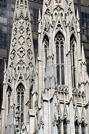 NYC:  St. Patrick s Cathedral Spires