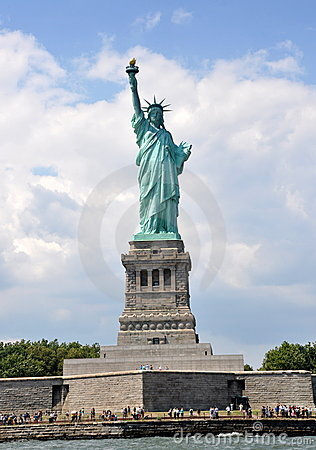 NYC:  The Statue of Liberty Editorial Photo