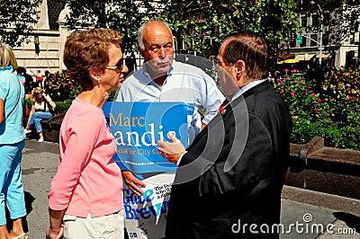 NYC: U. S. Congressman Jerrold B. Nadler Editorial Photography