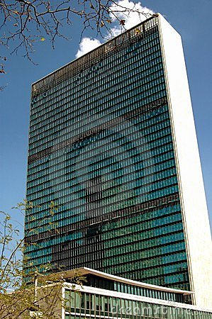 Free NYC: United Nations Secretariat Building Royalty Free Stock Photography - 20715187