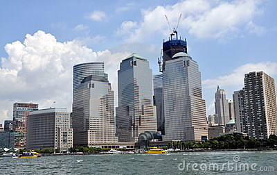 NYC: World Financial Center Editorial Stock Photo