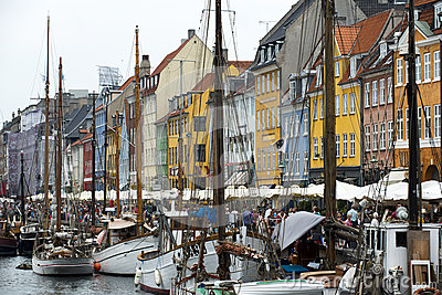 Nyhavn Editorial Stock Image