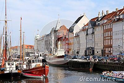 Nyhavn, Copenhagen Editorial Image