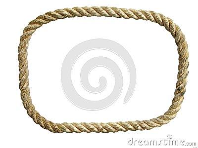 Nylon rope loop