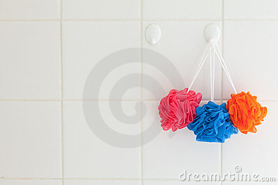 Nylon Shower Body Scrubbers