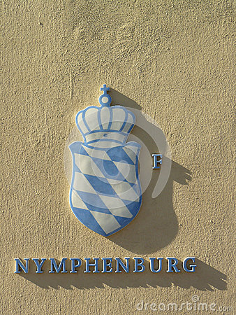 The Nymphenburg Palace Editorial Photo