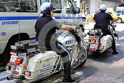 NYPD Editorial Stock Photo