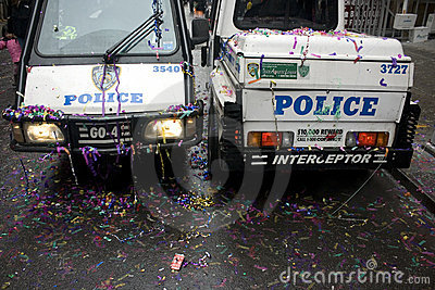 NYPD; Chinese New Year Editorial Stock Photo