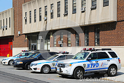 NYPD 60th Precinct in Brooklyn , NY Editorial Image