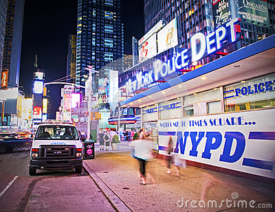Nypd in times square editorial stock photo image 31540333 - Tourist office new york city ...