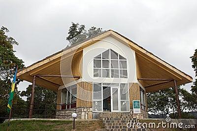 Nyungwe National Park Visitor Center at Uwinka Editorial Image