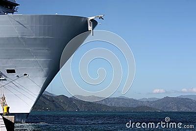 Oásis do navio de cruzeiros dos mares