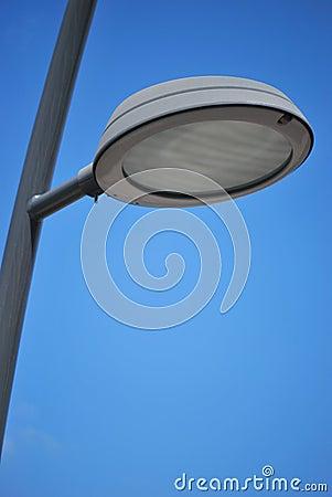 Oświetleniowa ulica
