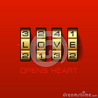 O amor abre o coração