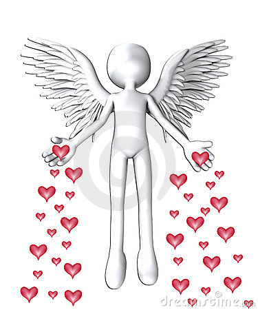 O anjo do amor