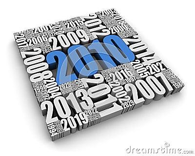 O ano 2010