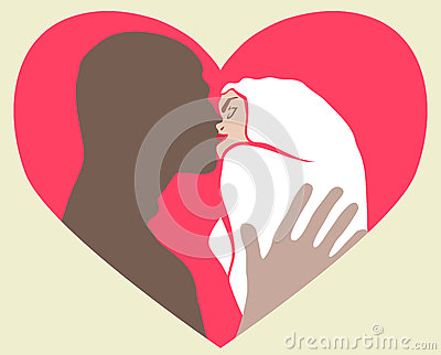 O beijo de dois amantes