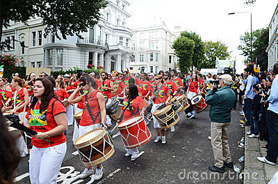 O carnaval 2011 de Notting Hill 28o agosto 2011 Imagem de Stock Editorial