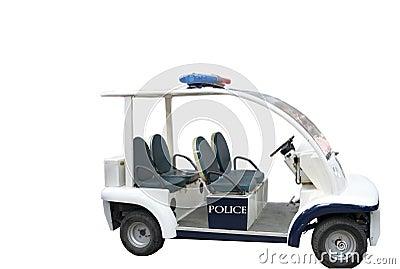 O carro de polícia