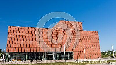 O centro de informação científica Foto Editorial