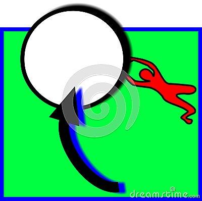 O depositário do objetivo salvar um sinal do tiro