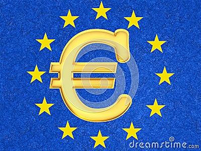 O euro- sinal