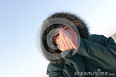 O frio