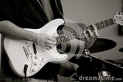 O guitarrista!