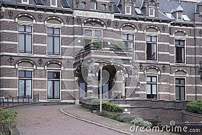 O hospital de Elisabeth Fotografia Editorial