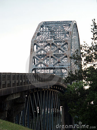Free O.K. Allen Bridge Stock Images - 124384