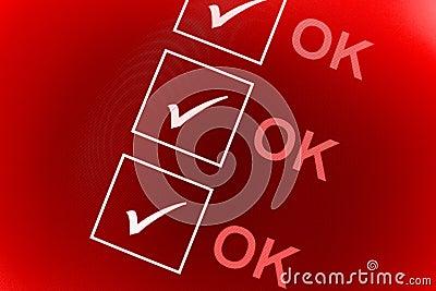 O.K. controlelijst