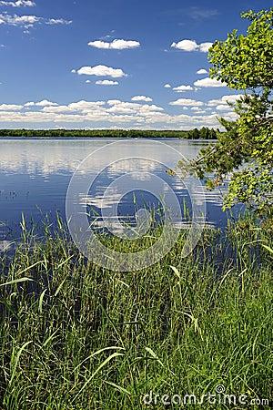 O lago