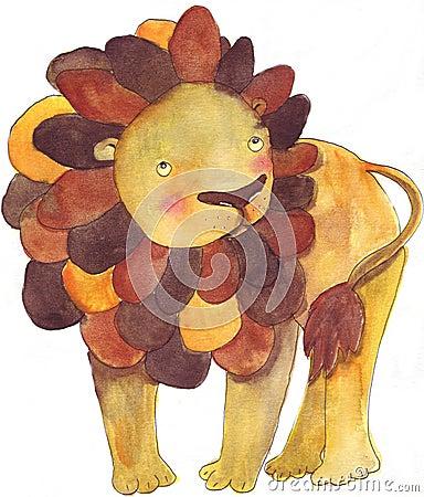 O leão