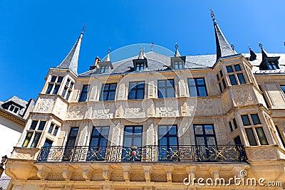 O palácio Ducal grande, Luxembourg