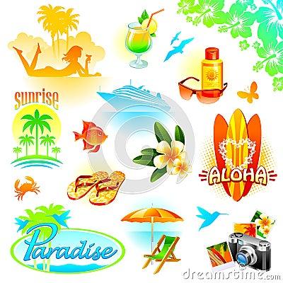 O recurso, o curso e os feriados exóticos ajustaram-se