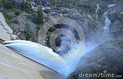 O Shaughessy Dam Spillway