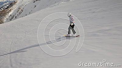 O Snowboarder segue o tiro filme
