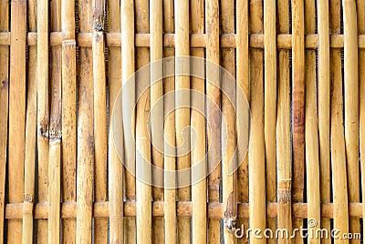 O weave de bambu