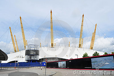 The O2 Arena Editorial Stock Image