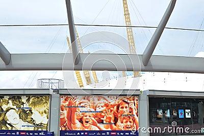The O2 Arena Editorial Image
